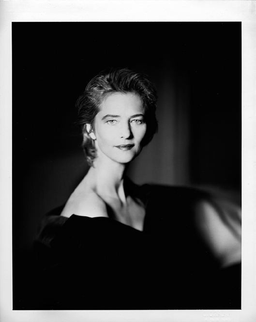 "© Giovanni Gastel, ""Femme, Charlotterampling"" anno 90' photo by Cristian Miretti"
