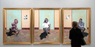 Portrait posthume de george dyer autoportrait portrait de lucian freud